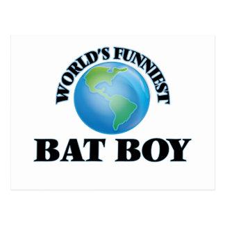 World's Funniest Bat Boy Post Card