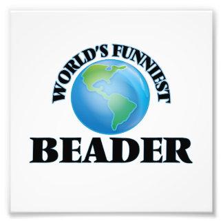 World's Funniest Beader Photograph