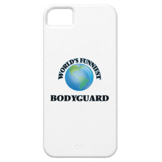 World's Funniest Bodyguard iPhone 5 Cases