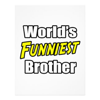 World's Funniest Brother Flyers