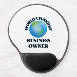 World's Funniest Business Owner Gel Mouse Pad