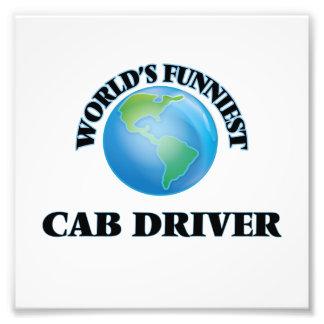 World's Funniest Cab Driver Photo Print