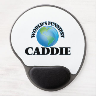 World's Funniest Caddie Gel Mouse Pads