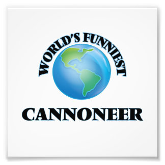 World's Funniest Cannoneer Art Photo