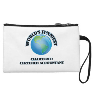 World's Funniest Chartered Certified Accountant Wristlet Purses
