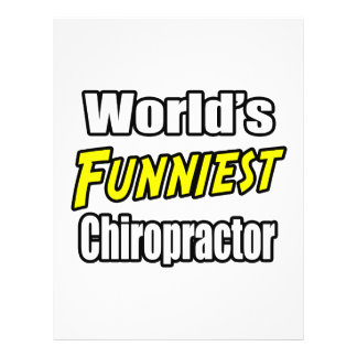 World's Funniest Chiropractor Flyers