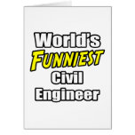 World's Funniest Civil Engineer Cards