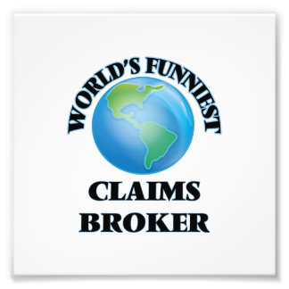 World's Funniest Claims Broker Photo