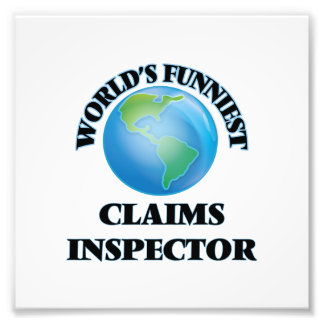 World's Funniest Claims Inspector Photograph