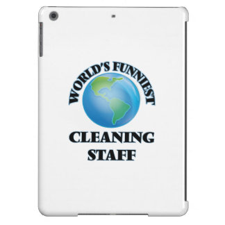 World's Funniest Cleaning Staff iPad Air Case