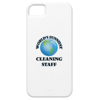 World's Funniest Cleaning Staff iPhone 5 Covers