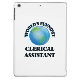 World's Funniest Clerical Assistant iPad Air Case
