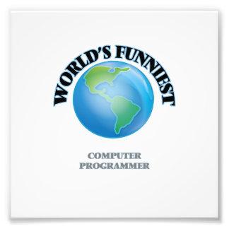World's Funniest Computer Programmer Photograph