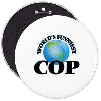 World's Funniest Cop Pins