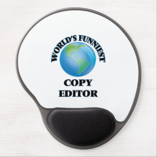 World's Funniest Copy Editor Gel Mouse Pad