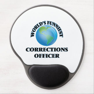 World's Funniest Corrections Officer Gel Mouse Pads