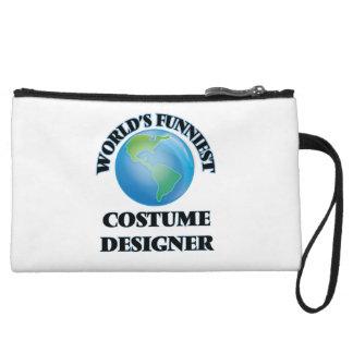 World's Funniest Costume Designer Wristlet Clutch