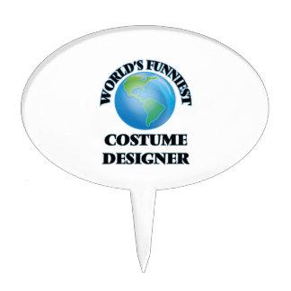 World's Funniest Costume Designer Cake Topper