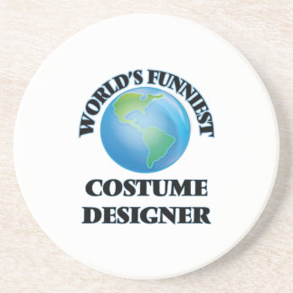 World's Funniest Costume Designer Drink Coasters