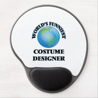 World's Funniest Costume Designer Gel Mouse Pad