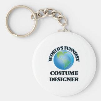 World's Funniest Costume Designer Keychains