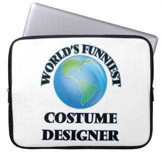 World's Funniest Costume Designer Laptop Computer Sleeves
