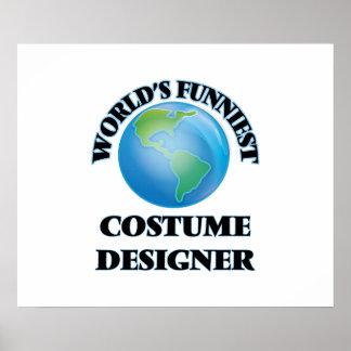 World's Funniest Costume Designer Print