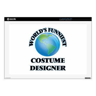 World's Funniest Costume Designer Laptop Decal