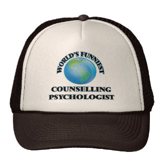 World's Funniest Counselling Psychologist Mesh Hat