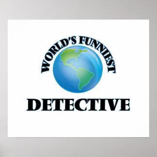 World's Funniest Detective Print