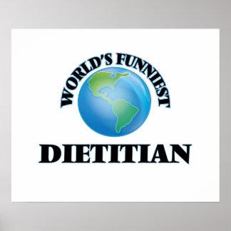 World's Funniest Dietitian Poster