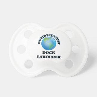 World's Funniest Dock Labourer BooginHead Pacifier