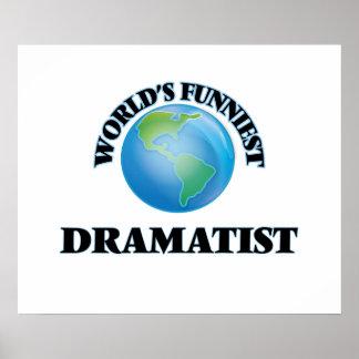 World's Funniest Dramatist Poster
