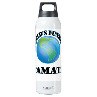 World's Funniest Dramatist SIGG Thermo 0.5L Insulated Bottle