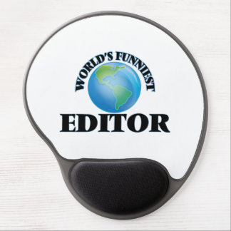 World's Funniest Editor Gel Mouse Pads