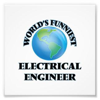 World's Funniest Electrical Engineer Art Photo