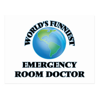 World's Funniest Emergency Room Doctor Postcard