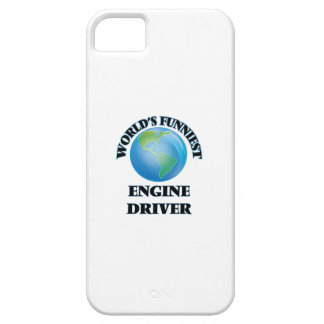 World's Funniest Engine Driver iPhone 5 Cases