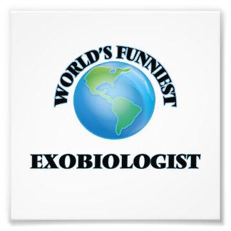 World's Funniest Exobiologist Photograph