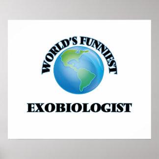 World's Funniest Exobiologist Posters