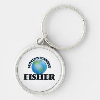 World's Funniest Fisher Keychains