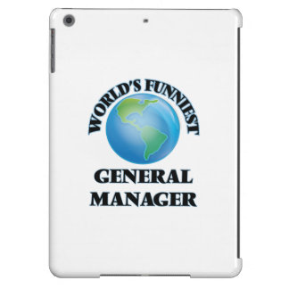World's Funniest General Manager iPad Air Covers