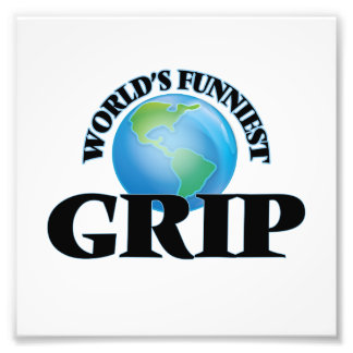 World's Funniest Grip Photographic Print
