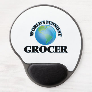 World's Funniest Grocer Gel Mouse Pad