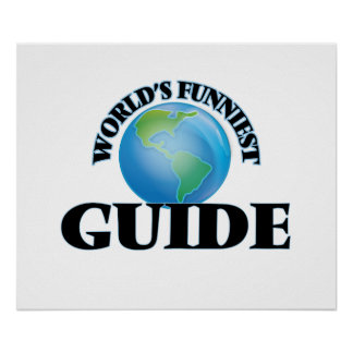 World's Funniest Guide Print