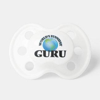 World's Funniest Guru BooginHead Pacifier