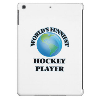 World's Funniest Hockey Player iPad Air Covers