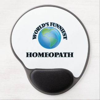 World's Funniest Homeopath Gel Mouse Pad