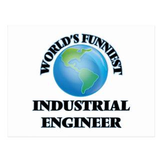 World's Funniest Industrial Engineer Postcard