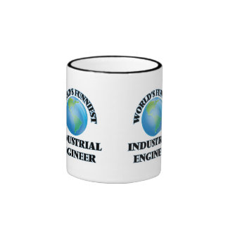 World's Funniest Industrial Engineer Ringer Coffee Mug